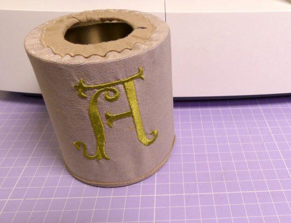 come cucire un cestino a cilindro - sara poiese