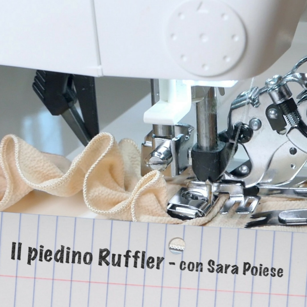 il piedino ruffler teaser sara poiese - work in progress