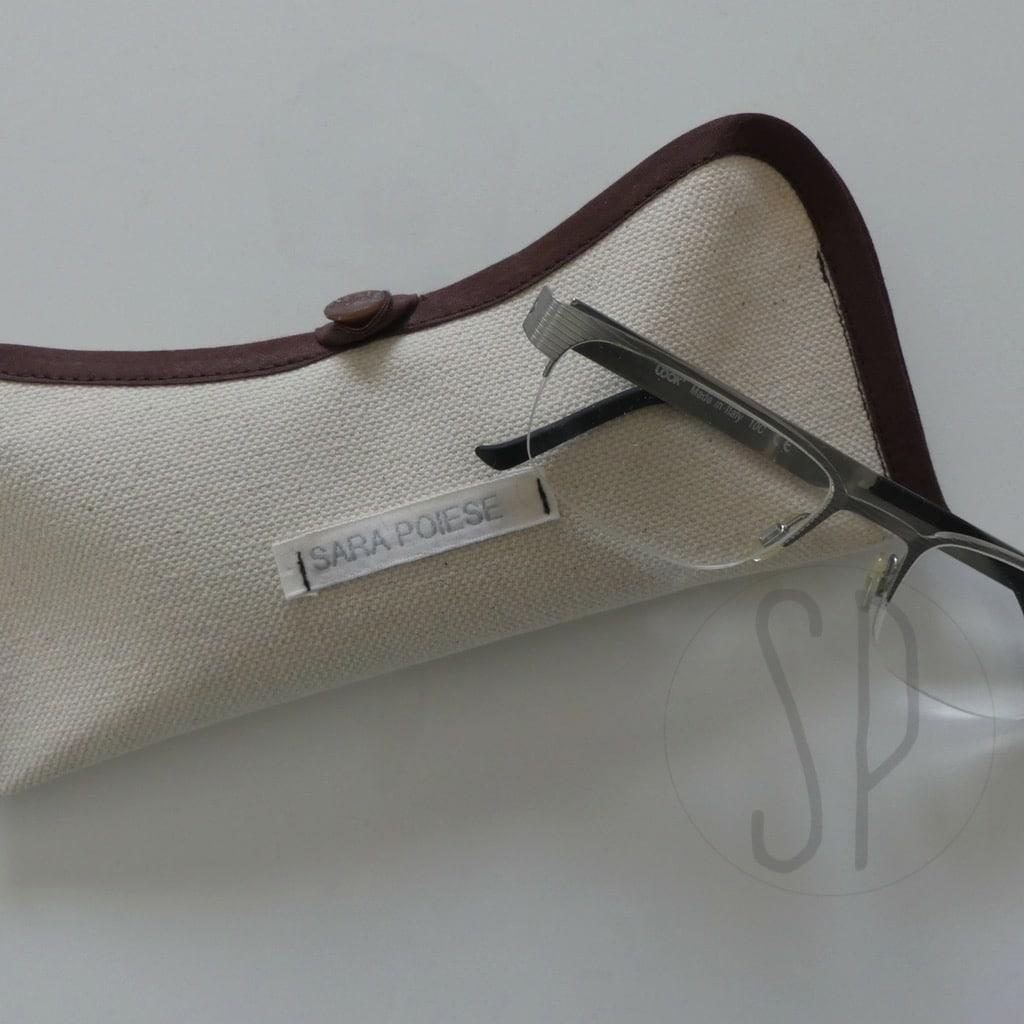 00 - come cucire un porta occhiali con lo sbieco - sara poiese