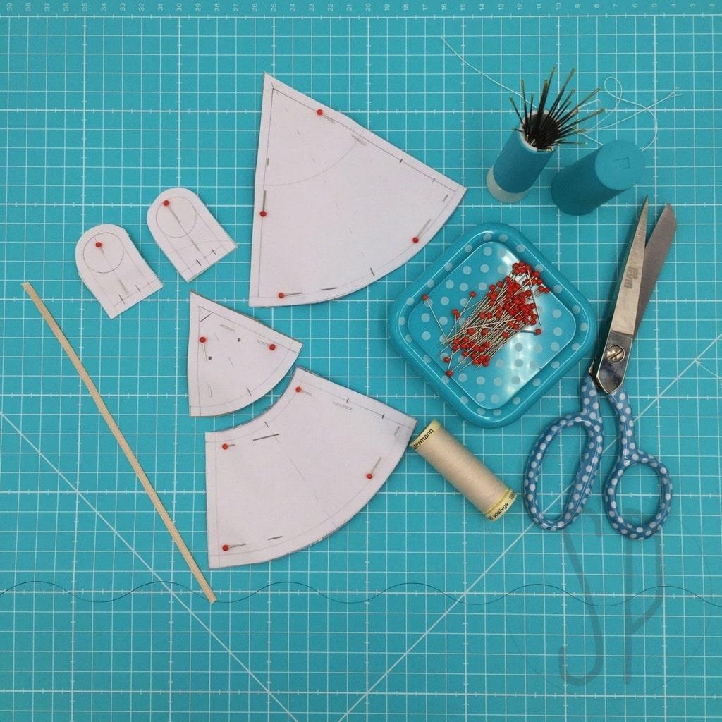 01 - come cucire il topo innamorato - i pupazzi di sara poiese