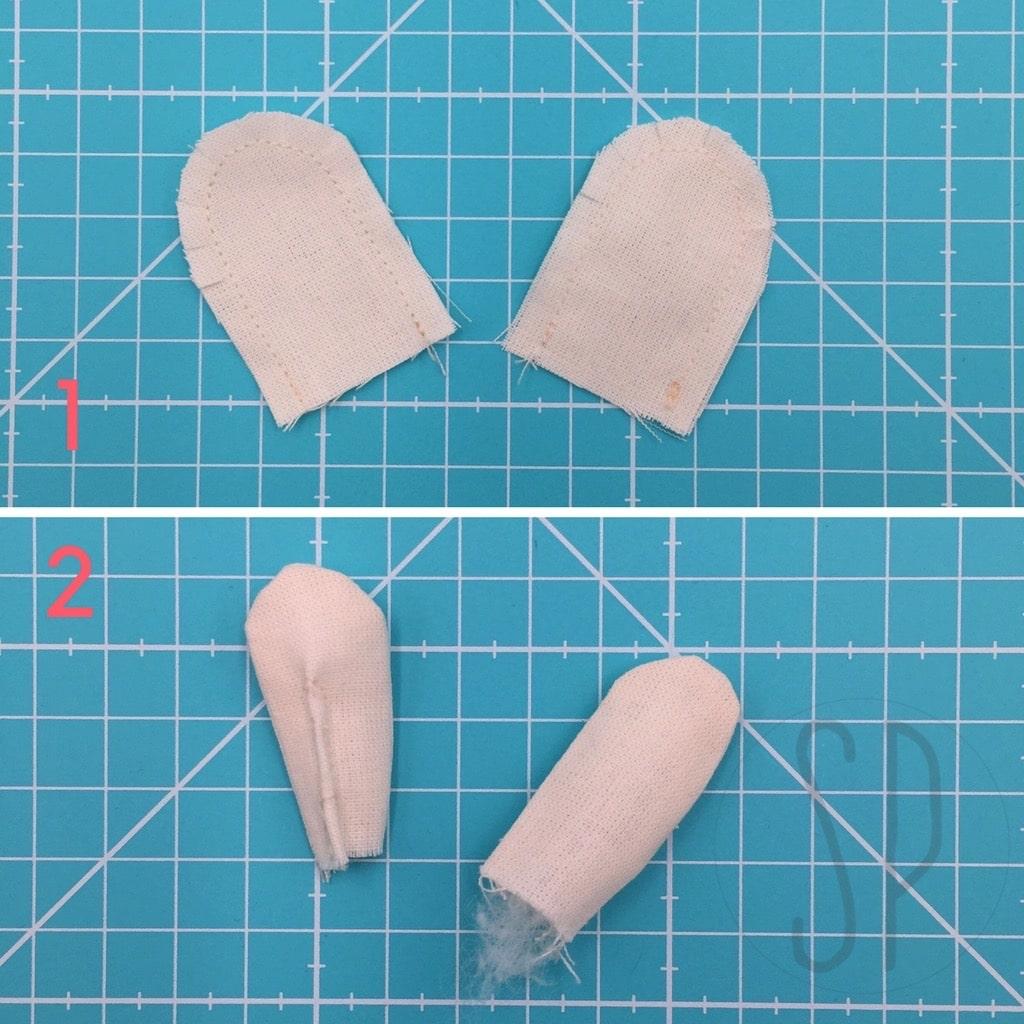 02 - come cucire il topo innamorato - i pupazzi di sara poiese