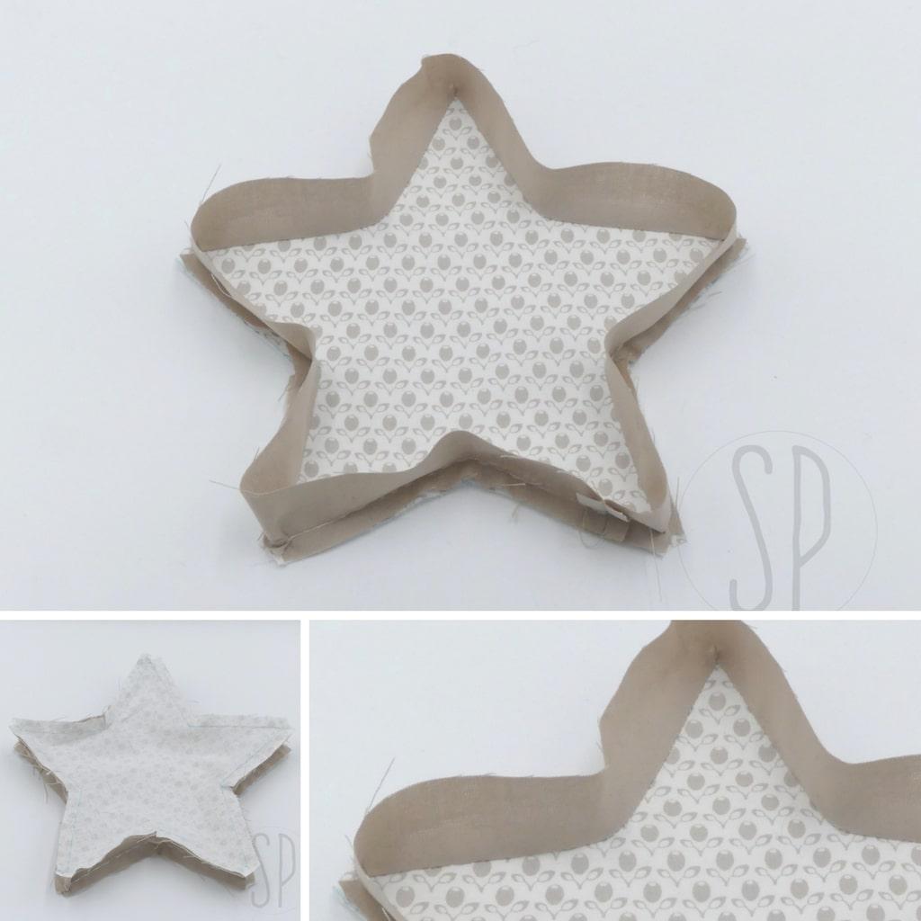 04 - come cucire la stellina imbottita - sara poiese