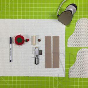 01- come cucire lo strofinaccio da cucina - sara poiese