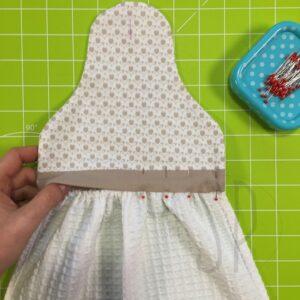07 - come cucire lo strofinaccio da cucina - sara poiese