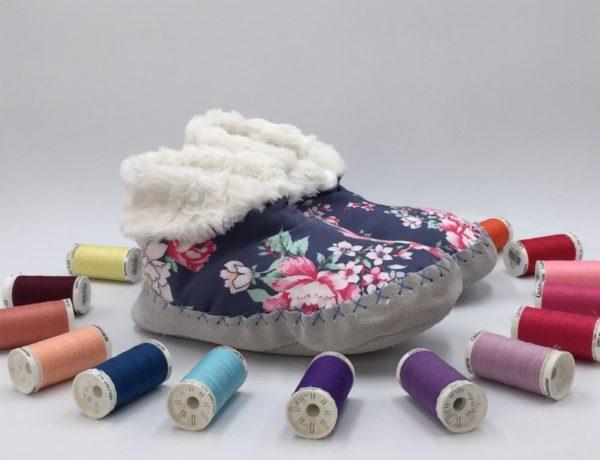come cucire le pantofole con sara poiese (1)