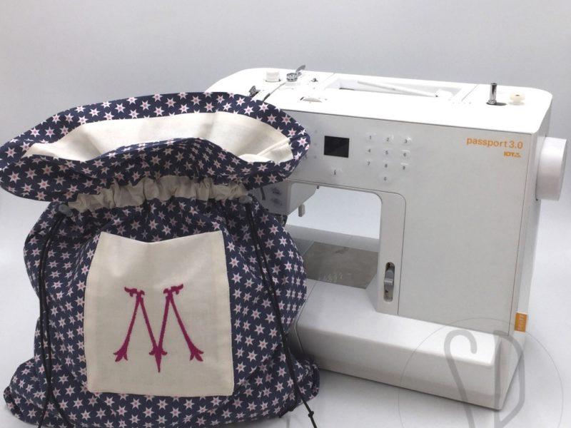Cucire Una Sacca.Come Cucire Il Sacco Con Fodera Tasca E Cordini Sara Poiese