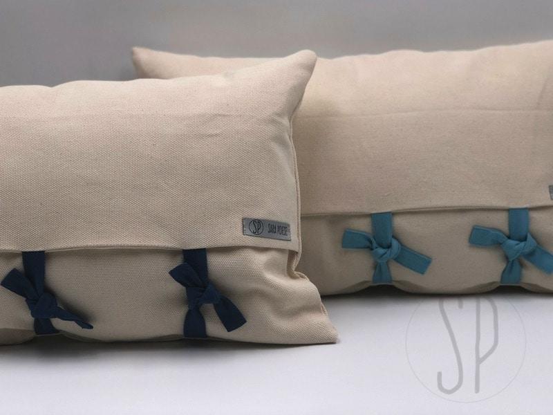 00 - come cucire il cuscino con i lacci - con sara poiese