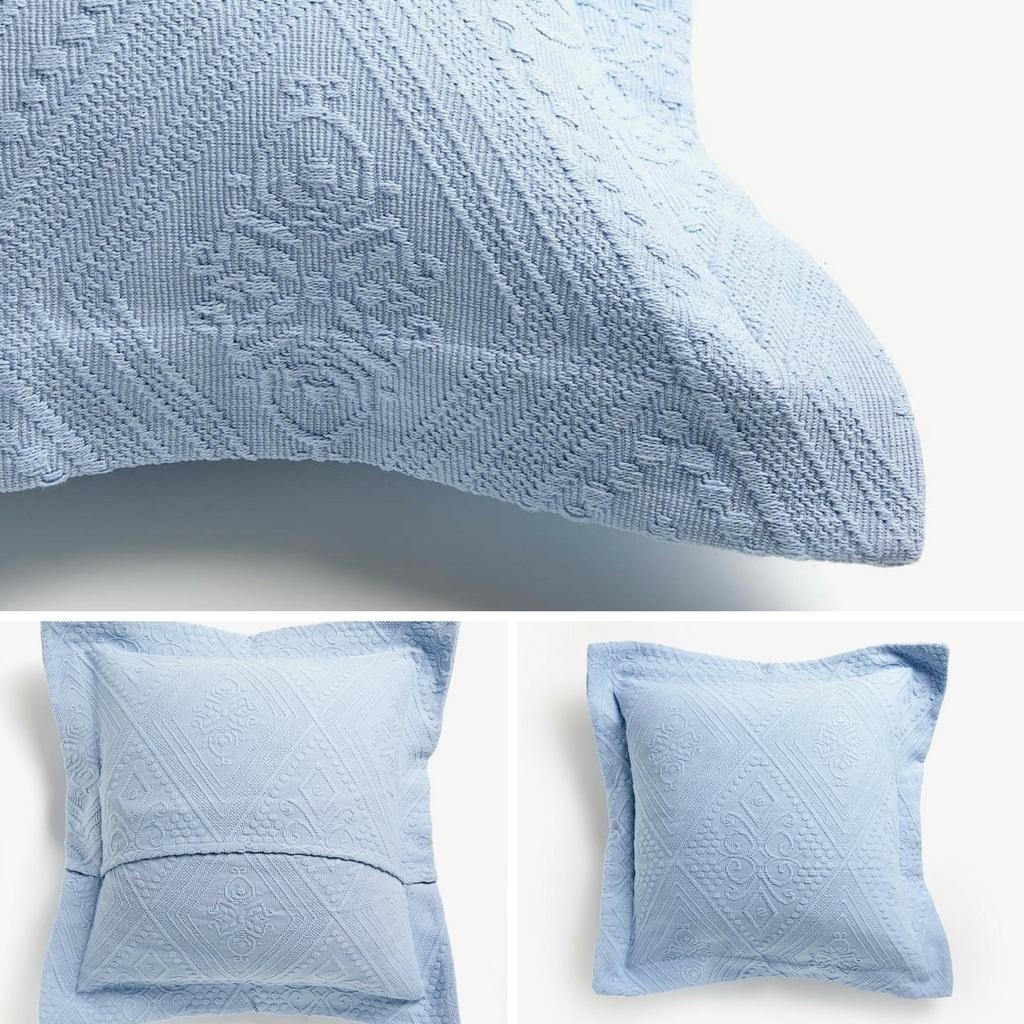 Il cuscino con bordo e zip coperta - anteprima del tutorial di cucito