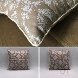 come cucire il cuscino con profilo e zip nascosta - con sara poiese