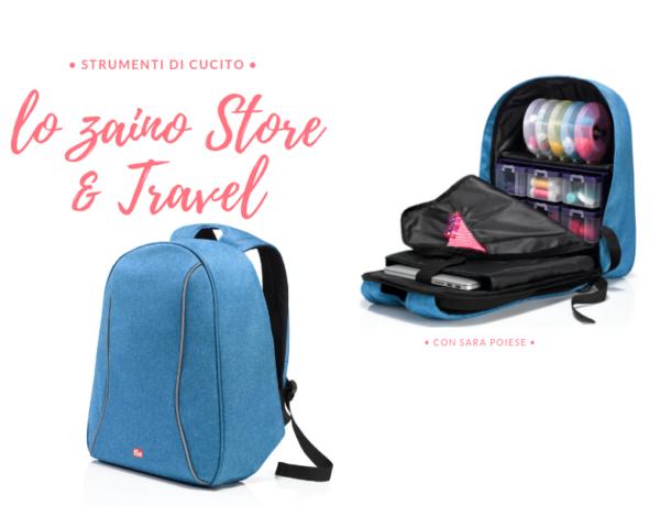 back pack zaino store and travel prym - con sara poiese