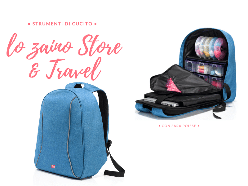 back pack zaino store and travel prym - con sara poiese