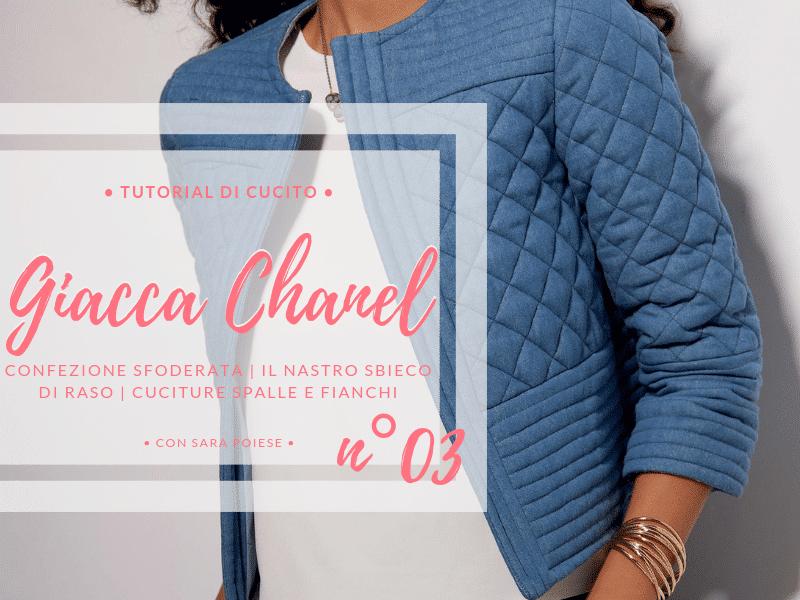 giacca Chanel lezione 03 con sara poiese