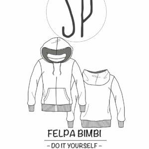 cover felpa #1005 con Sara Poiese