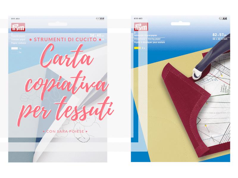 la carta copiativa e la rotella per sarti - con Sara Poiese