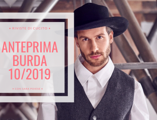 BLOG | anteprima burda style ottobre 2019 | con Sara Poiese