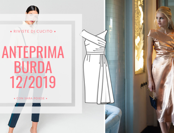 BLOG | anteprima burda style dicembre 2019 | con Sara Poiese