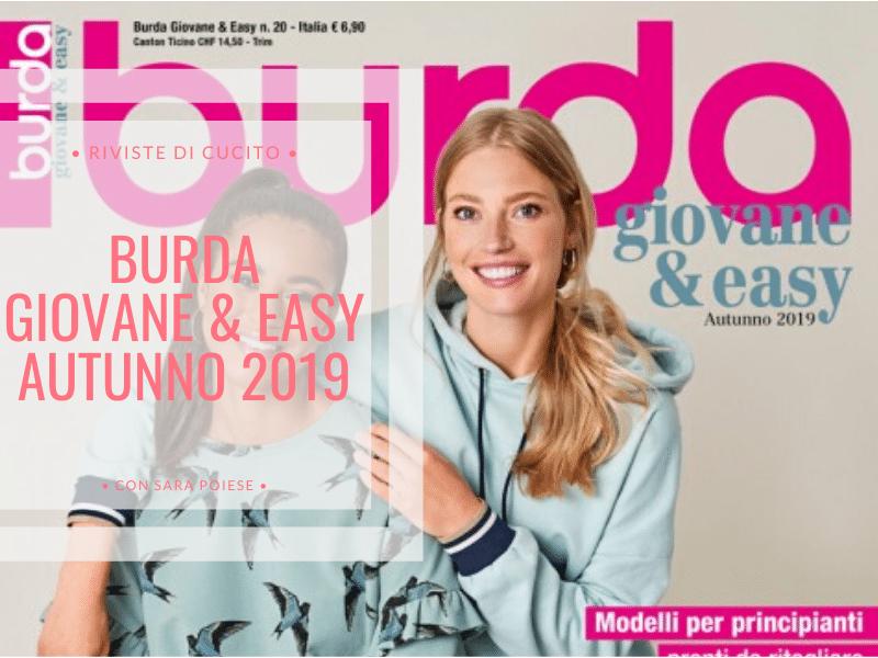 Sfogliamo assieme Burda giovane eay autunno 2019 | in sartoria con Sara Poiese